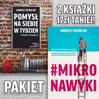 """Pakiet """"Pomysł na siebie w tydzień"""" + """"#mikronawyki"""""""